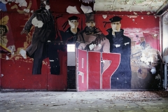 Cinema mural detail, Krampnitz. 16.3.99