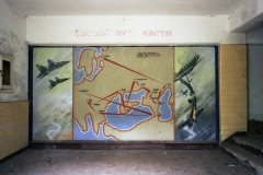 History of the unit mural, Altes Lager. 17.7.99