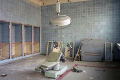 Operating theatre, Jüterbog Lazarett. 26.10.00