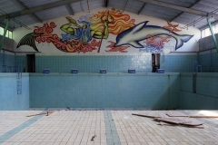 Swimming pool, Wünsdorf. 19.6.99