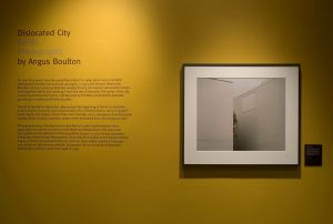 'Dislocated City'. The Wolk Gallery. Judith M. Daniels, courtesy of the MIT Museum.